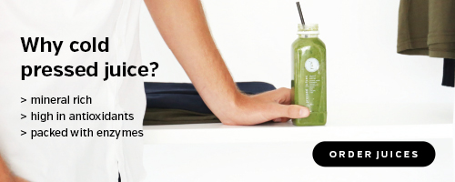 Why cold pressed?