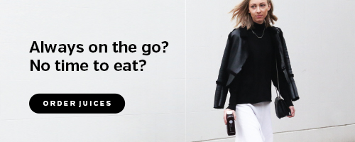 Always on the go? No time to eat?