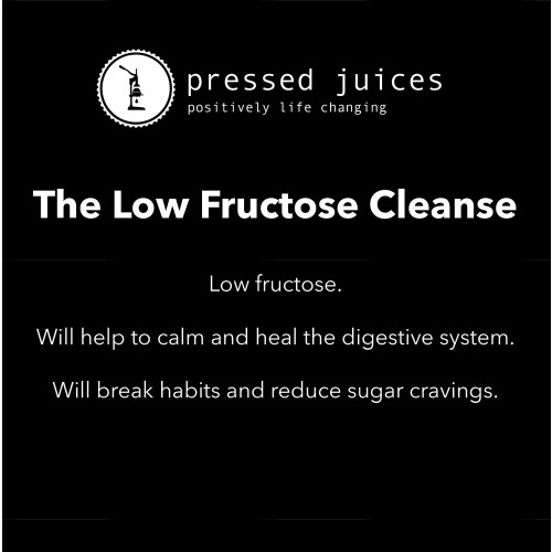 Low Fructose Cleanse