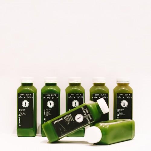 1 Week Wellness Pack: 100% Organic Celery Juice