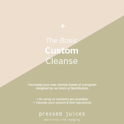 basic custom cleanse