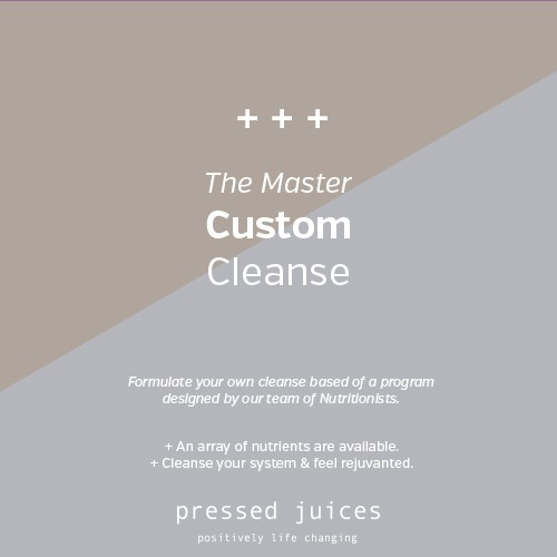 Master custom Cleanse